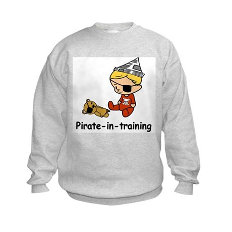 Pirate-in-training Kids Sweatshirt