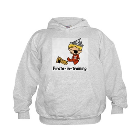 Pirate-in-training Kids Hoodie