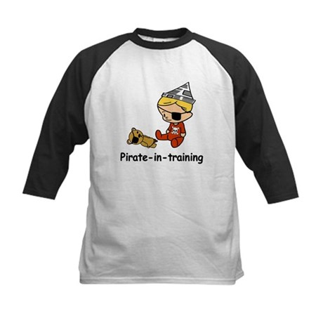 Pirate-in-training Kids Baseball Jersey