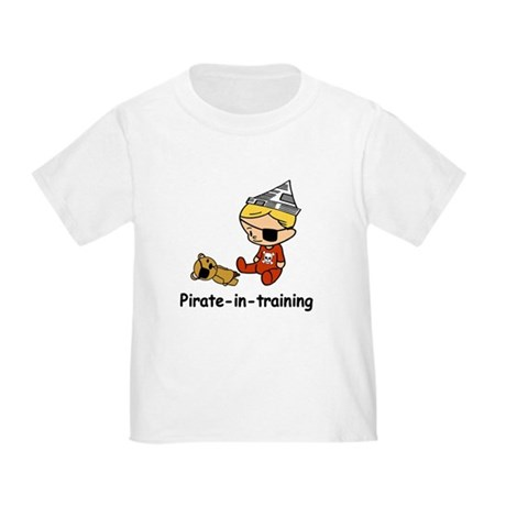 Pirate-in-training Toddler T-Shirt