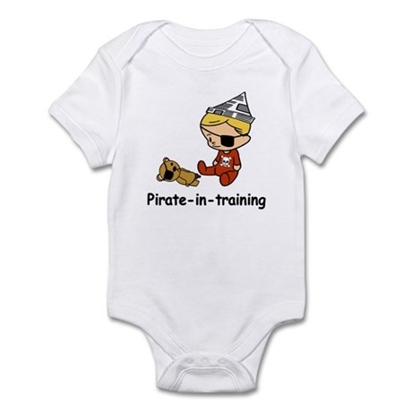 Pirate-in-training Infant Bodysuit