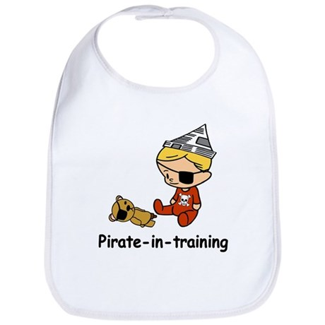 Pirate-in-training Bib