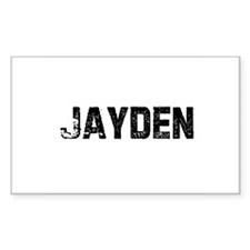 Jayden Rectangle Decal