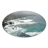 San Martin Rock Oval Decal