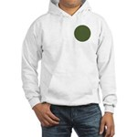 Geranium Leaves Hooded Sweatshirt