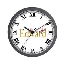 Bitten by Edward Wall Clock
