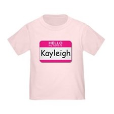 Kayleigh Hello My Name is Tag T