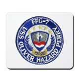 USS OLIVER HAZARD PERRY Mousepad