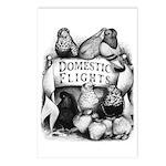 Big Apple Flight Pigeons Postcards (Package of 8)