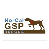 NorCal GSP Rescue Logo Postcards (Package of 8)