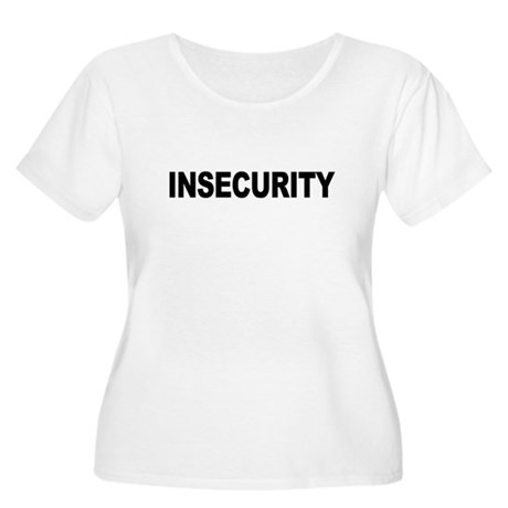 INSECURITY Plus Size Scoop Neck Shirt