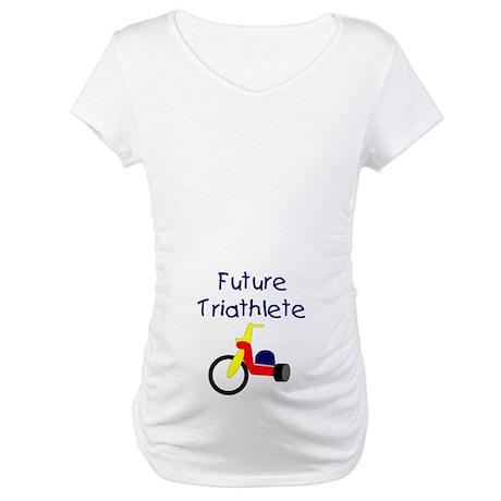 """Future Triathlete"" Maternity T-Shirt"