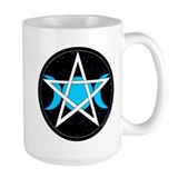 Pentacle Triple Moon Mug - Black