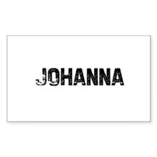 Johanna Rectangle Decal