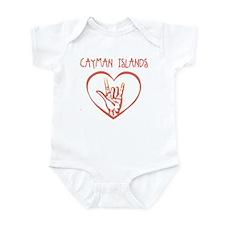 CAYMAN ISLANDS (hand sign) Infant Bodysuit