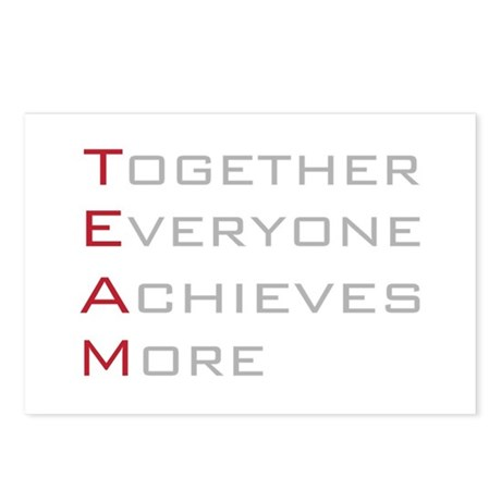 TEAM Together Everyone Achieves Postcards (Package