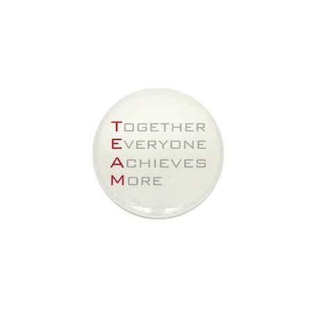 TEAM Together Everyone Achieves Mini Button (100 p
