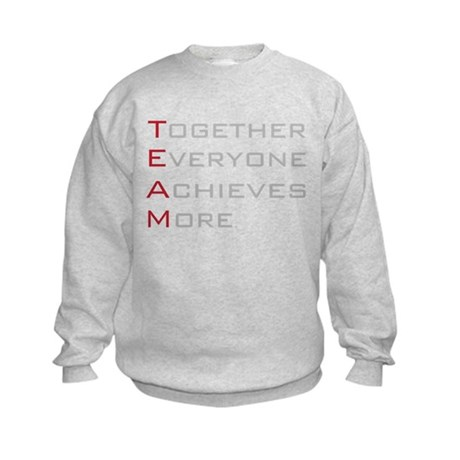 TEAM Together Everyone Achieves Kids Sweatshirt