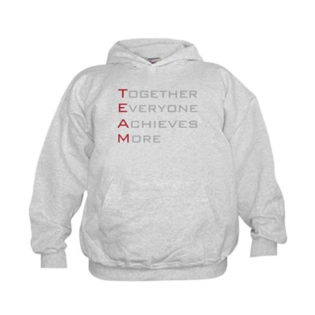 TEAM Together Everyone Achieves Kids Hoodie