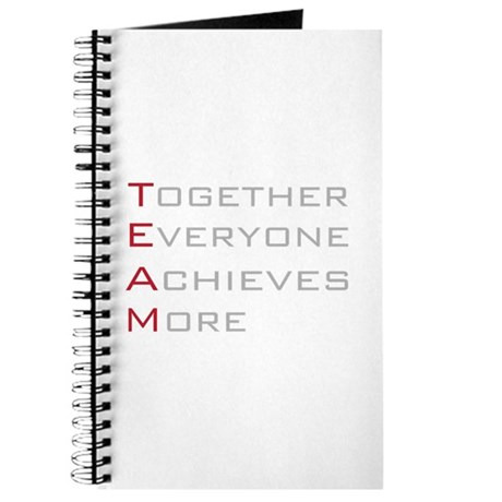 TEAM Together Everyone Achieves Journal