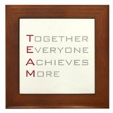 TEAM Together Everyone Achieves Framed Tile