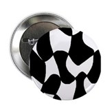 "Black op-art 2.25"" Button (10 pack)"