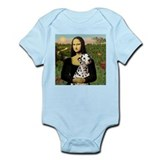 Mona Lisa (new) &amp; Dalmatian Infant Creeper