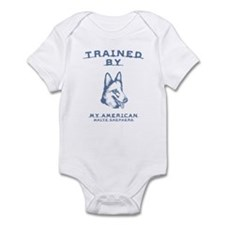 American White Shepherd Infant Bodysuit
