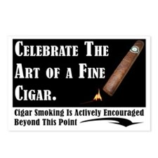 Cute Cigar Postcards (Package of 8)