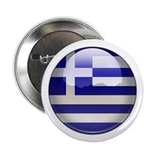 Greece Flag Jewel Button