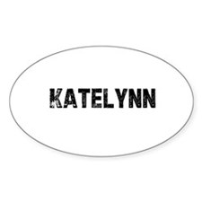 Katelynn Oval Decal
