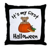 Baby's 1st Halloween Throw Pillow