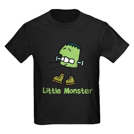 Frankie Little Monster Kids Dark T-Shirt