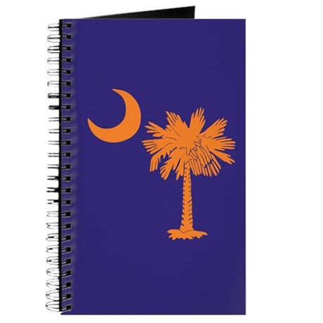 Orange and Purple SC Flag Journal