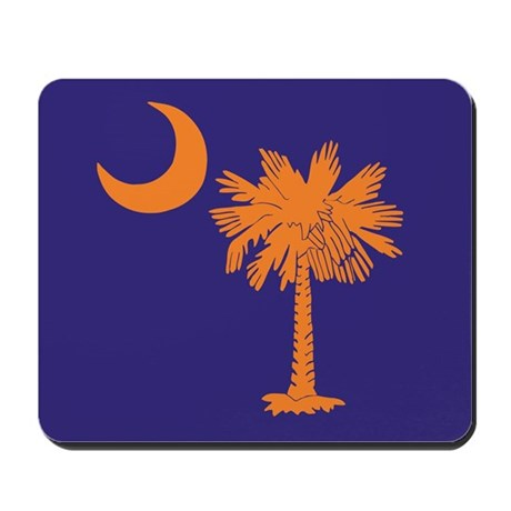 Orange and Purple SC Flag Mousepad