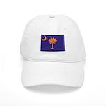 Orange and Purple SC Flag Cap