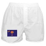 Orange and Purple SC Flag Boxer Shorts