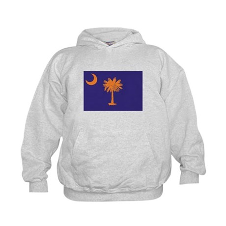 Orange and Purple SC Flag Kids Hoodie