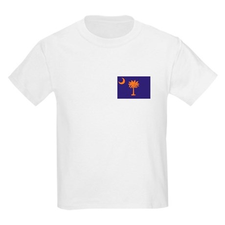 Orange and Purple SC Flag Kids Light T-Shirt