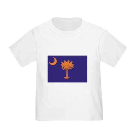 Orange and Purple SC Flag Toddler T-Shirt