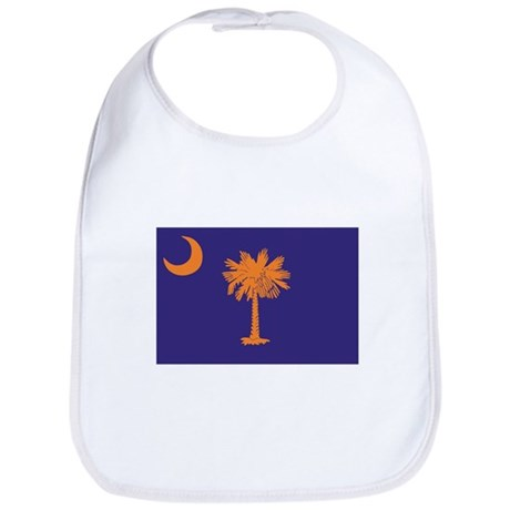 Orange and Purple SC Flag Bib