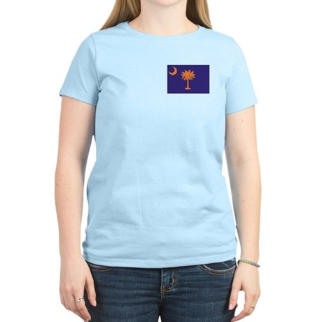 Orange and Purple SC Flag Women's Light T-Shirt