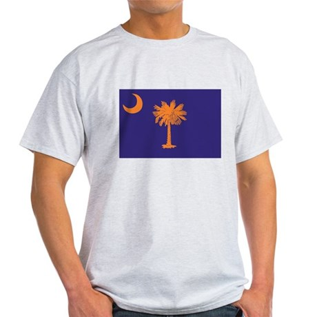 Orange and Purple SC Flag Light T-Shirt