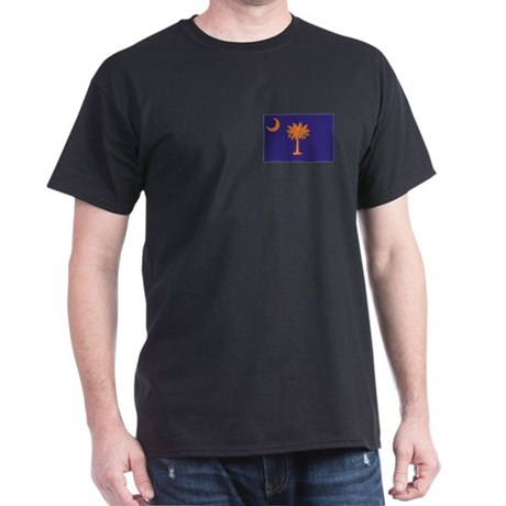 Orange and Purple SC Flag Dark T-Shirt