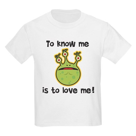 To Know Me Monster Kids Light T-Shirt