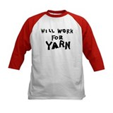 Will Work For Yarn Tee