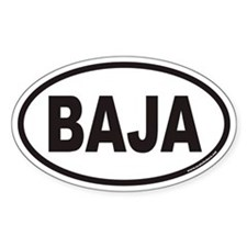 BAJA Euro Oval Decal