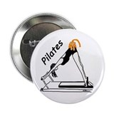 Pilates Cat Button