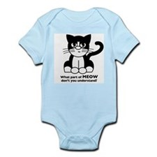 """What part of MEOW don't you understand?"" Infant C"