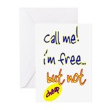Call me! Greeting Cards (Pk of 10)
